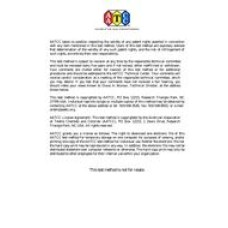 AATCC 138-2014