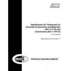 ACI 117-10 (R2015)