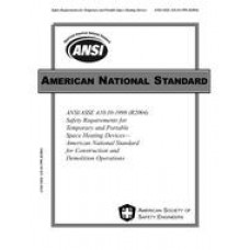 ASSP A10.10-1998 (2004)