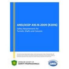 ASSP A10.16-2009 (R2016)