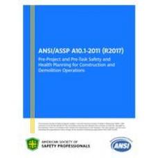 ASSP A10.1-2011 (R2017)