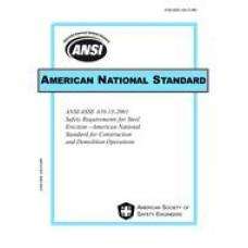ASSP A10.13-2001