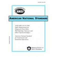 ASSP A10.18-1996