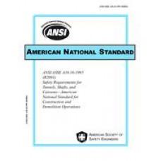 ASSP A10.16-1995(R2001)