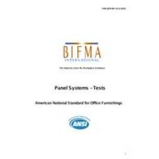 BIFMA X5.6-2010