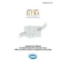 BIFMA M7.1-2011 (R2016)
