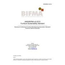 BIFMA e3-2012e
