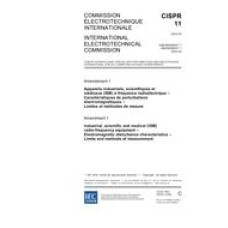 CISPR 11 Amd.1 Ed. 4.0 b:2004