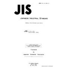 JIS A 0151:1961