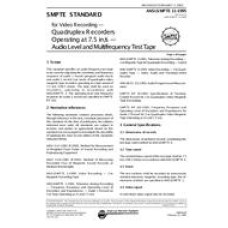 SMPTE 11-1995 (Archived 2003)