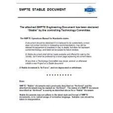 SMPTE 171-2001 (Stabilized 2012)