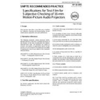 SMPTE RP 18-1995 (Archived 2003)