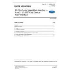 SMPTE ST 435-3:2012