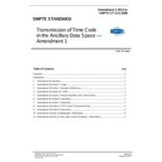 SMPTE 12M-2-2008 Amendment 1:2013